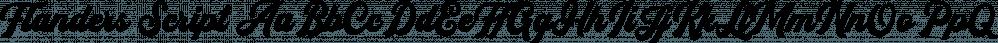 Flanders Script font family by Letterhend Studio