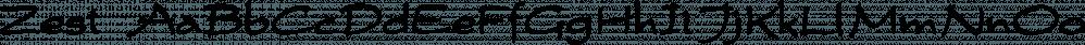 Zest font family by Scholtz Fonts