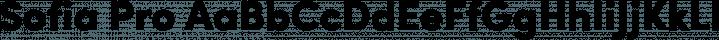 Sofia Pro font family by Mostardesign