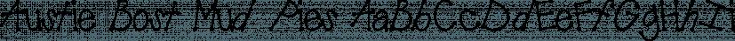 Austie Bost Mud Pies font family by Austie Bost Fonts