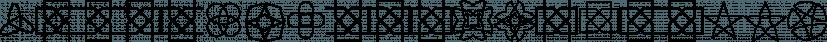 XAirebesk font family by Ingrimayne Type