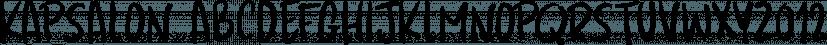 Kapsalon font family by Hanoded