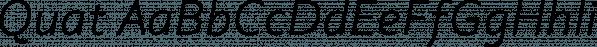 Quat font family by Ani Dimitrova