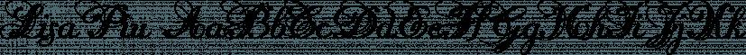 LisaPiu font family by Wiescher-Design