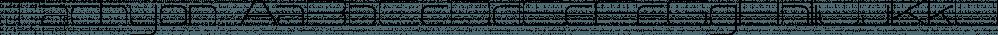 Tachyon font family by Fonthead Design