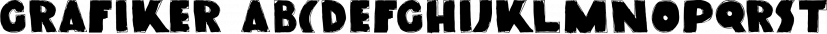Grafiker font family by Hanoded