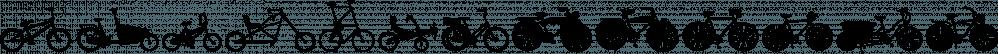 Bikes font family by Lauren Ashpole