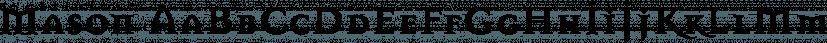Mason font family by Emigre