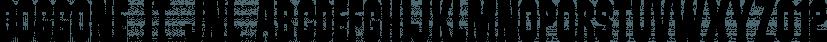 Doggone It JNL font family by Jeff Levine Fonts
