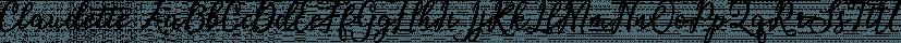 Claudette font family by Picatype Studio