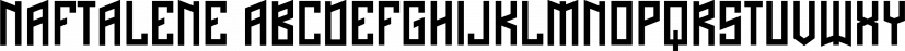 Naftalene font family by Typodermic Fonts Inc.
