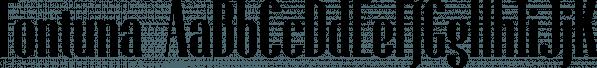Fontuna font family by NREY