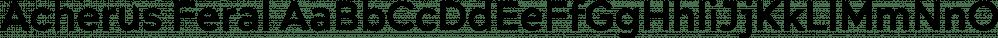 Acherus Feral font family by Horizon Type
