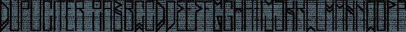 Dupliciter font family by JAF 34