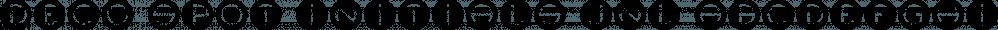 Deco Spot Initials JNL font family by Jeff Levine Fonts