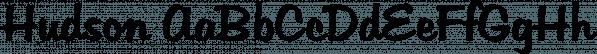 Hudson font family by SoftMaker