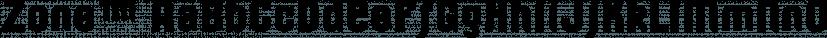 Zone™ font family by MINDCANDY