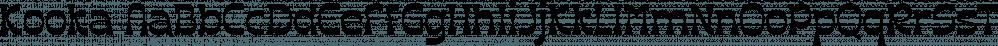 Kooka font family by Creative Media Lab