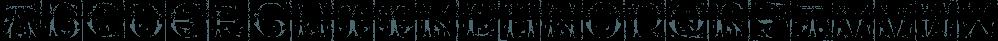 1514 Paris Verand font family by GLC Foundry