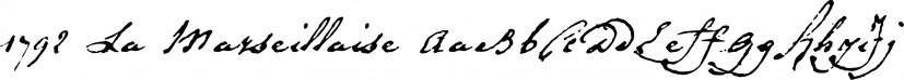 1792 La Marseillaise font family by GLC Foundry