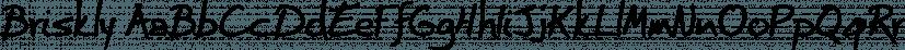 Briskly font family by Hackberry Font Foundry