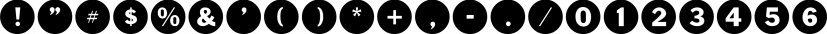 Circuletter JNL font family by Jeff Levine Fonts
