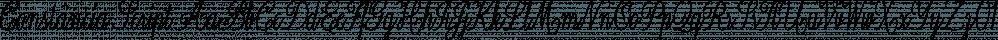 Constância Script font family by Pedro Teixeira