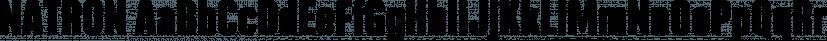 NATRON font family by Posterizer KG