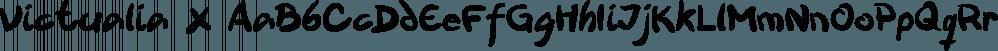 Victualia X font family by Dawnland