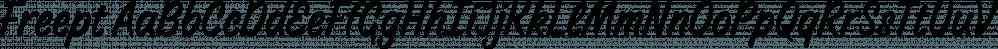 Freept font family by AKTF