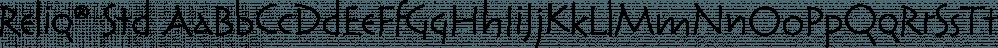 Reliq® Std font family by Adobe