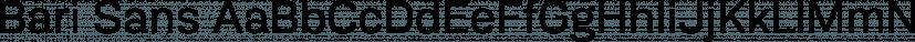 Bari Sans font family by JCfonts