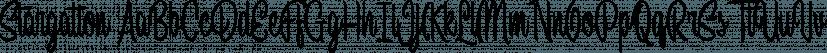 Stargation font family by Letterhend Studio