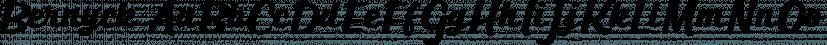 Bernyck font family by Eurotypo