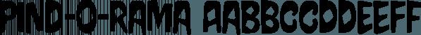 Pind-O-Rama font family by PintassilgoPrints