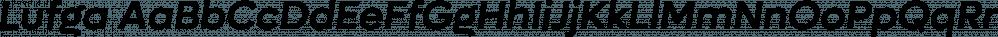 Lufga font family by Adam Ladd