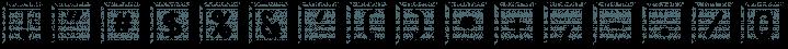 JetJaneButton font family by Ingrimayne Type