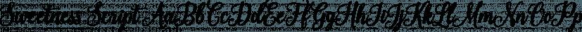 Sweetness Script font family by Seniors Studio