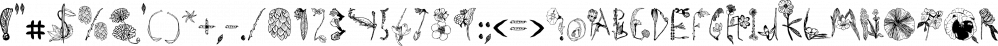 Herbarium font family by Gustav & Brun