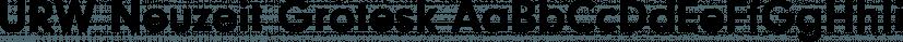 URW Neuzeit Grotesk font family by URW Type Foundry