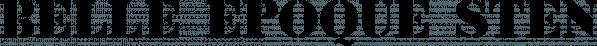 Belle Epoque Stencil JNL font family by Jeff Levine Fonts