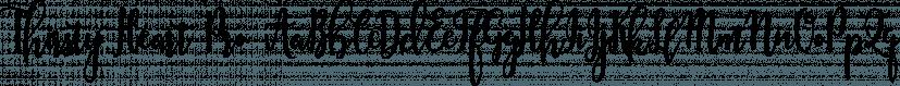 Thirsty Heart Pro font family by DimitriAna