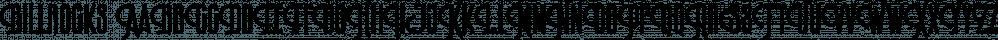 Billrocks font family by Letterhend Studio
