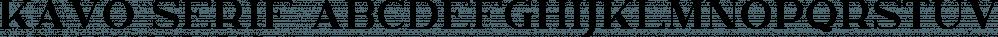 Kavo Serif font family by VPcreativeshop