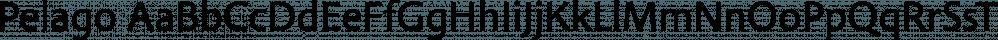 Pelago font family by Adobe