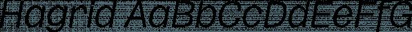 Hagrid font family by Zetafonts
