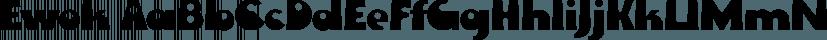 Ewok font family by FontSite Inc.