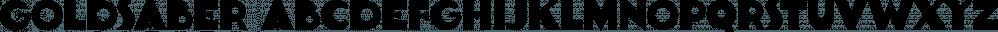 Goldsaber font family by Typodermic Fonts Inc.
