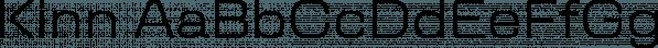 Kinn font family by Stawix