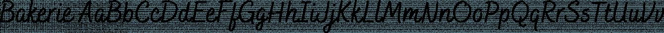 Bakerie font family by Adam Ladd
